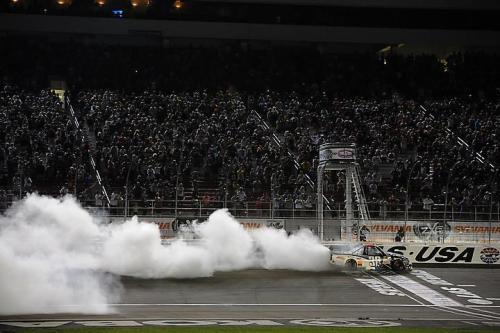 Comemoração em Las Vegas (Foto: Divulgação/Piquet Sports)