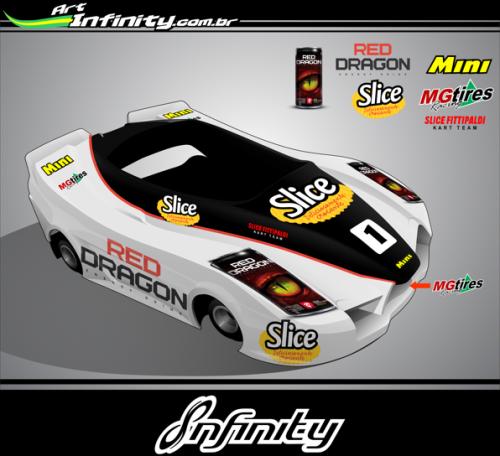 Kart  equipe Slice Fittipaldi