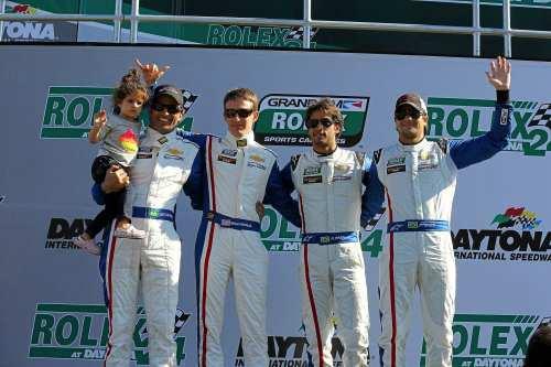 Christian Fittipaldi, Brian Frisselle, Felipe Nasr e Nelsinho Piquet (Crédito: Carsten Horst / Divulgação Piquet Sports)