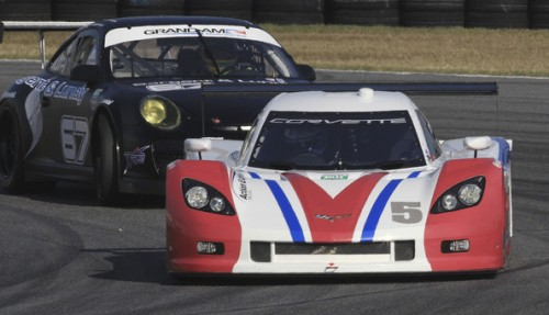 Christian Fittipaldi com o Chevrolet Corvette #5 em 2012 (Foto: Brian Cleary / Getty Images)