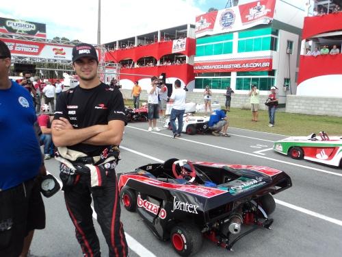 Nelsinho Piquet no Desafio das Estrelas em 2011