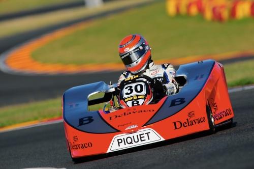 Nelsinho Piquet no Desafio das Estrelas 2013 (Foto: Duda Bairros / Divulgação)