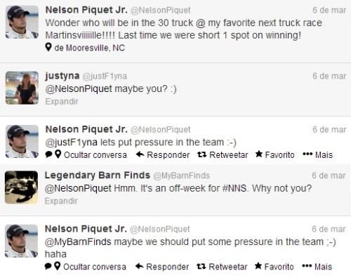 Your wish is an order for us, Nelson. Let's put pressure! // Seu desejo é uma ordem, Nelsinho! Vamos fazer pressão!