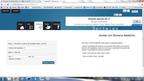 sorteio parte 1 // draw part 1
