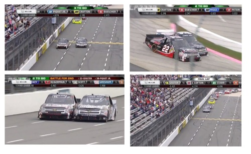 Relembre a ultrapassagem sensacional em cima de Joey Coulter que deu ao Nelsinho o segundo lugar na última prova em Martinsville // Remember the amazing overtake by Coulter for the 2nd place that Nelson did in his last race in Matinsville!