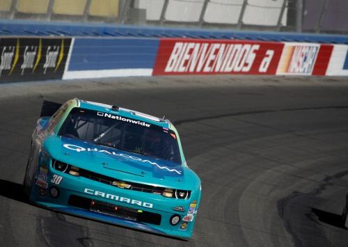 A volta do azulão da Qualcomm: Depois de várias corridas com o patrocínio da Worx, o Camaro 30 volta a receber a pintura azul do patrocinador Qualcomm