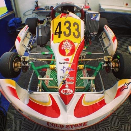 Kart do Nelsinho Piquet no Florida Winter Tour (Foto: reprodução instagram @piquetjr)