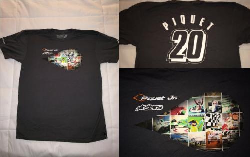 Camisa comemorativa 20 anos de carreira Piquet Jr