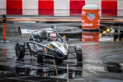 Nelsinho nos treinos da Race of Champions 2015 (Foto: José Mario Dias)
