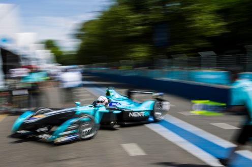 2015 Formula E Buenos Aires e-Prix, Argentina Friday 5 February 2016. Nelson Piquet (BRA), NEXTEV TCR FormulaE 001 Photo: Sam Bloxham/FIA Formula E/LAT ref: Digital Image _G7C9402